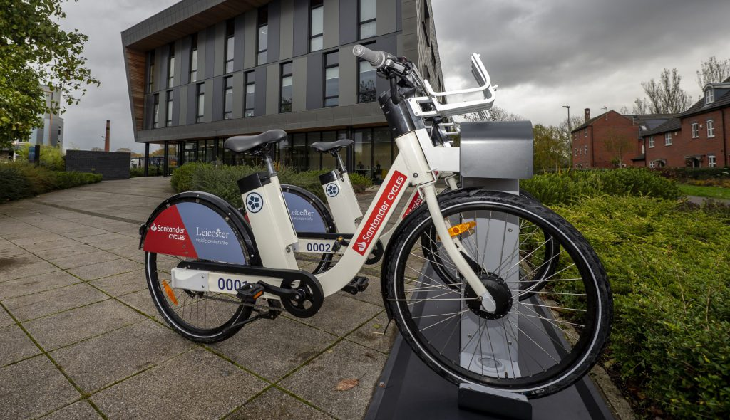 Santander Cycles Leicester E-Bike